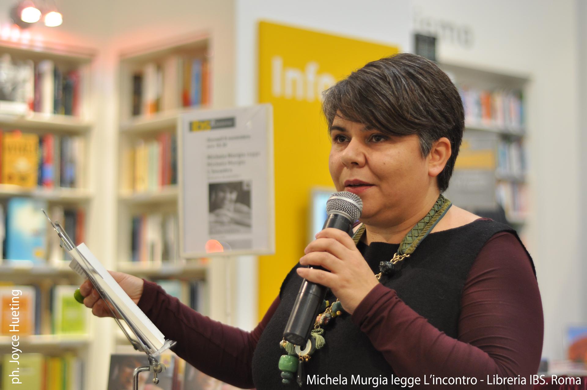 Michela Murgia legge L'incontro a Roma