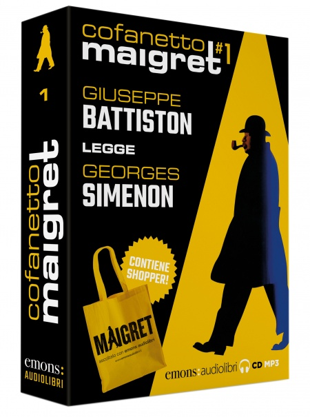 Cofanetto Maigret 1